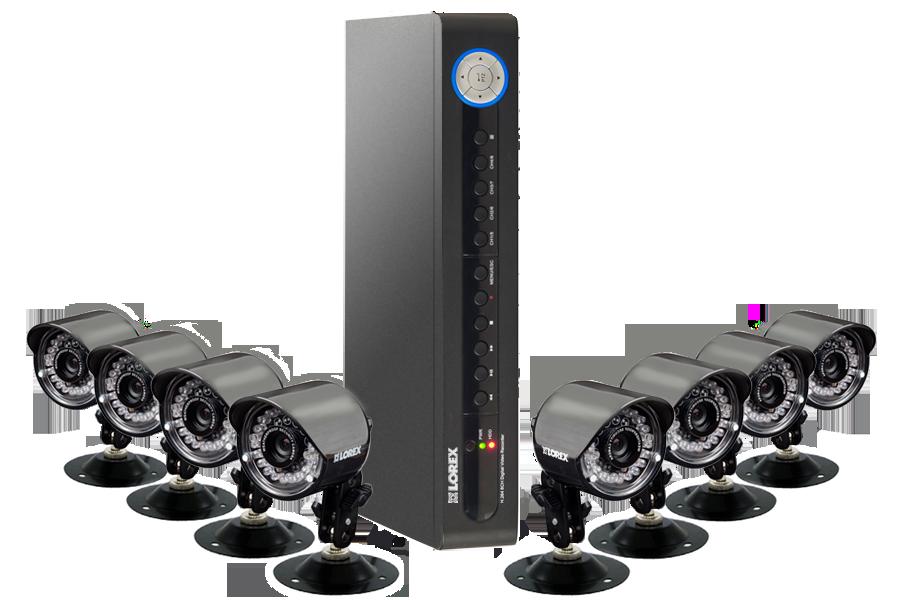 güvenlik kamerası ve kayıt cihazı
